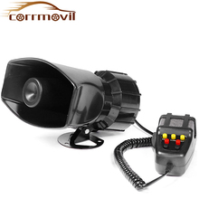 Car Alarm Siren Horn 12V Van Truck Horn Sirens Police Speakers Sound Signal For Car Loud