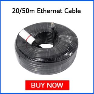 Hiseeu 20m 50m Ethernet Cable