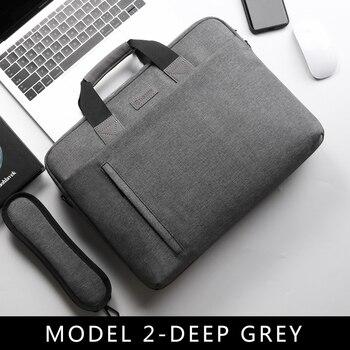 Laptop Bag case 13.3 14 15.6 17.3 Inch Waterproof Notebook Bag for Macbook Air Pro 13 15 Computer Shoulder Handbag Briefcase Bag 8