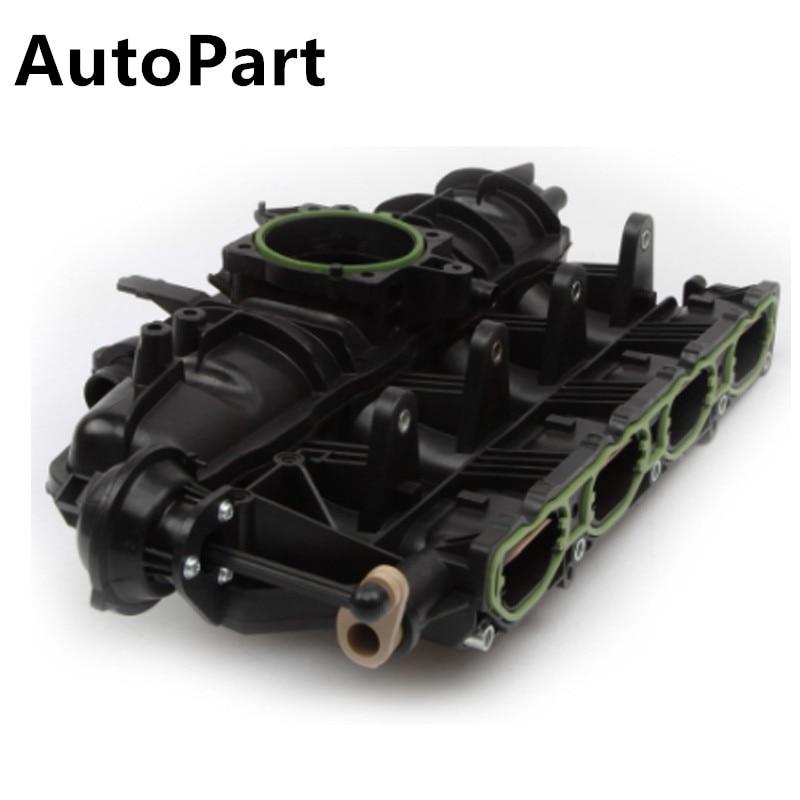 VW For Audi A4 A6 Engine Intake Manifold Runner Control Sensor Servo w Seals OEM
