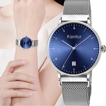 Fantor 2019 Elegant Ladies Fashion Watches Women Luxury Brand Quartz Mesh Magnetic Buckle Wristwatch Woman Bracelet Dress Watch