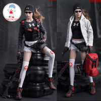 Fire Girl Toys 1/6 2017 FG046 City Rescue Team Female Clothes Accessory for 12 TBLeague Jiaou Doll Action Figures