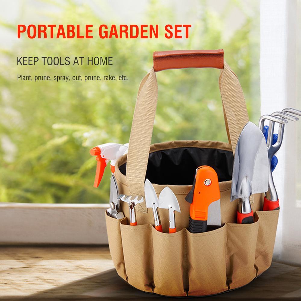 Домашний сад ручные инструменты Органайзер сумки электрические аппаратные инструменты DIY Многофункциональный Ремонтный комплект
