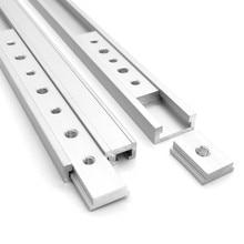 Slot-Slider Fastener Screw-Slot Sliding-Bar Woodworking-Tool Jigs T-Track Aluminum M6/M8