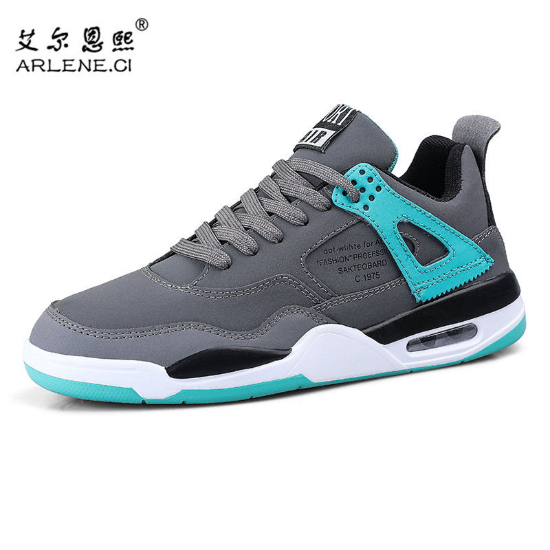 <font><b>Retro</b></font> Men Running Shoes Outdoor Fitness Sneakers Jogging Mens Trainers <font><b>Jordan</b></font> <font><b>4</b></font> Comfortable Gym Sports Shoes Zapatillas Hombre image