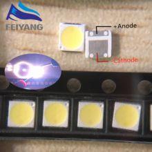 100PCS/Lextar Retroilluminazione A LED LED Ad Alta Potenza 1.8 W 3030 6 V 3 V bianco Freddo 150-187LM PT30W45 V1 TV Application