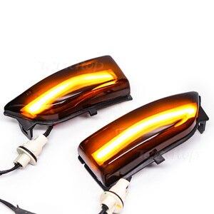 Image 5 - Dinâmico led streamer turno signal sequencial espelho lateral luz para ford everest ranger t6 raptor wildtrak 2015 2016 217 2018 2019