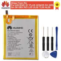 D'origine HB396481EBC Batterie De Téléphone Pour Huawei ASCEND G7 PLUS HONNEUR 5X 5A G8 G8X 5C 7C 7A 8 9 10 Lite Verser Intelligent 2019 Y5 C8816
