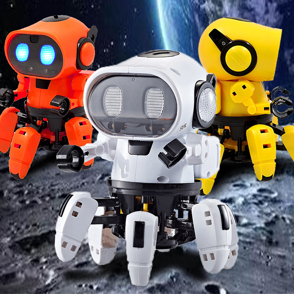 Funny Dance Robot for Kids Electric Toys Toddlers Boys Girls Children Gifts Cool Stuff Baby Toy Robots Doll Pet 2 To 4 Years Old