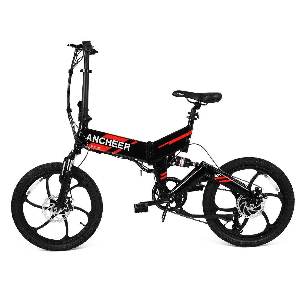 US Plug 20 inch 250W 7 Speed Mountain E Bike Foldable Electric Bicycle Electric Bike