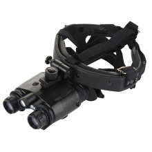 цены New 1X24 High Definition Helmeted Night Vision CR123 Battery Green Image Hunting Patrol Infrared Binocular Telescope
