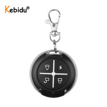 Kebidu Copy Code 433MHz Remote Control 4 Buttons Mini Wireless Transmitter Key Fob For Car Garage Door 433.92 Mhz RF Controller