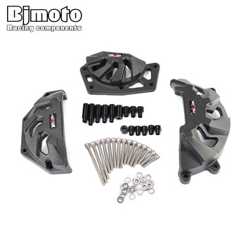 BJMOTO 2020 Motorcycle MT FZ 09 Engine Protective Cover Guard Set For Yamaha MT-09 FZ-09 MT09 FZ09 2013-2015 2016 2017 2018 2019