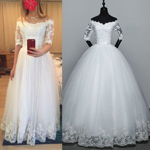 Image 3 - 2 Hoops 1 layer Yarn Skirt Bride Bridal Wedding Dress Support Petticoat Women Costume Skirts Lining Liner E15E