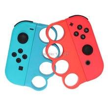 Nintendo anahtarı sol sağ kaymak esnek parmak kayışı Nintendo anahtarı Joy Con için boks oyunları kolu kavrama