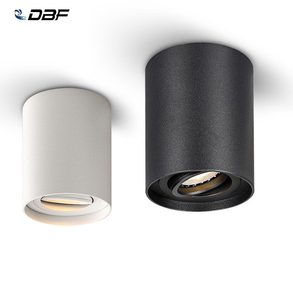 5W 7W Austauschbare GU10 Led-lampe Oberfläche Montiert LED COB Down Kalt/Warm Weiß für Wohnzimmer küche LED Decke Spot Licht