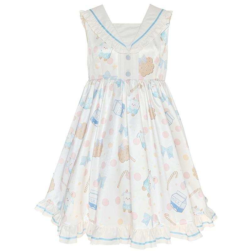 Купить kawaii/платье в стиле лолиты для девочек платье с матросским