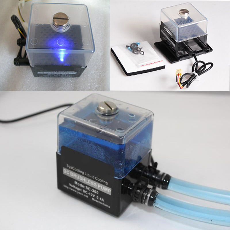 Water-Pump-Set Liquid-Cooling-System for PC CPU DC 12V 4W 150ml Small 3P Power-Connector