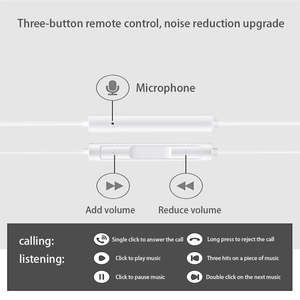 Image 5 - מקורי HUAWEI CM33 אוזניות USB סוג C באוזן Hearphone אוזניות מיקרופון נפח HUAWEI Mate 10 20 פרו 20 X RS P 10 20 30 הערה 10