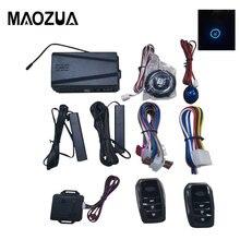 12V allarme Auto telecomando ingresso senza chiave Auto avviamento motore sistema di allarme pulsante avviamento remoto arresto sistema antifurto automatico
