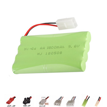 9.6V 1800mAh NI-CD High quality battery for RC car boat truck tank remote control electric toys 9.6 v nicd rechargeable battery