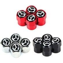 4 шт./компл. колпачки клапанов автомобильных колес для mazda 2 mazda 3 mazda 6 M5 cx 5 автомобильные аксессуары