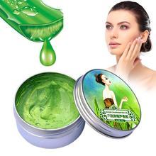Natural Aloe Vera crema facial en gel acné hidratante de blanqueamiento crema reparadora ácido hialurónico Anti Winkle crema de tratamiento TSLM2