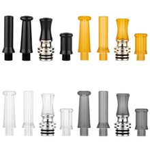 PEI 510 Drip Tip MTL Pom Heat Resistance Mouthpiece Narrow Bore Vape Tips For Hussar RTA Ecig Vape Accessories(China)