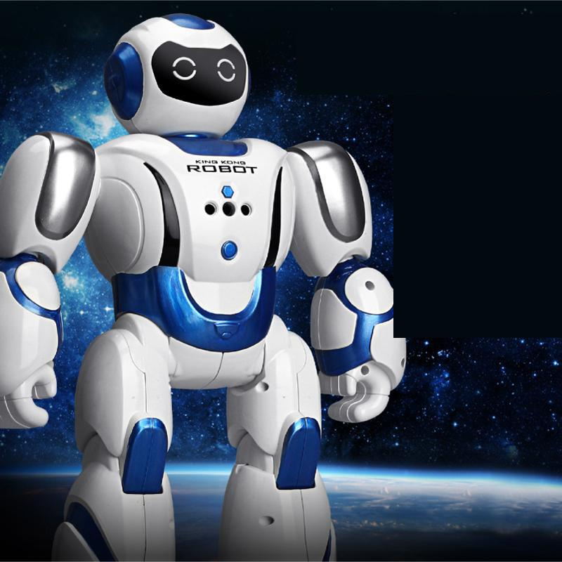 Ant Solar Charging Baby Education Robot LED Lighting Song And Dance Fully Introduce Remote Control Robot Toy