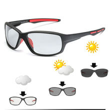 Photochromic Polarized Cycling Glasses Outdoor Sports Color-Changing Lens MTB Bi