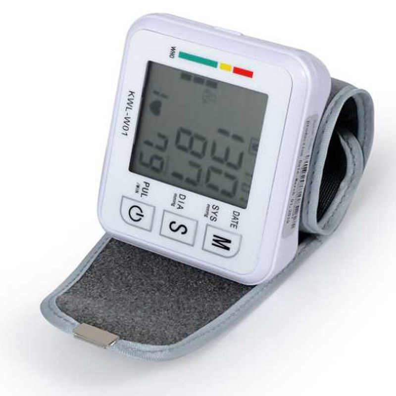 เครื่องวัดความดันโลหิตอัตโนมัติแบบดิจิตอลเครื่องวัดความดันโลหิต Heart Beat Rate PULSE Monitor Tonometer pulsometer เครื่อง