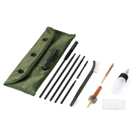12PCS Outdoor Cleaning Set Shooting Gear Cleaning Kit Set Portable Clean Kit for 20. 30in Caliber Brush Tool Hunting Accessories