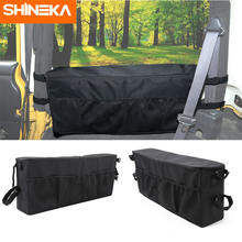 SHINEKA Stowing Tidying For Jeep Wrangler TJ Car Trunk Side Storage Bags Organizer Accessories For Jeep Wrangler TJ 1997-2006