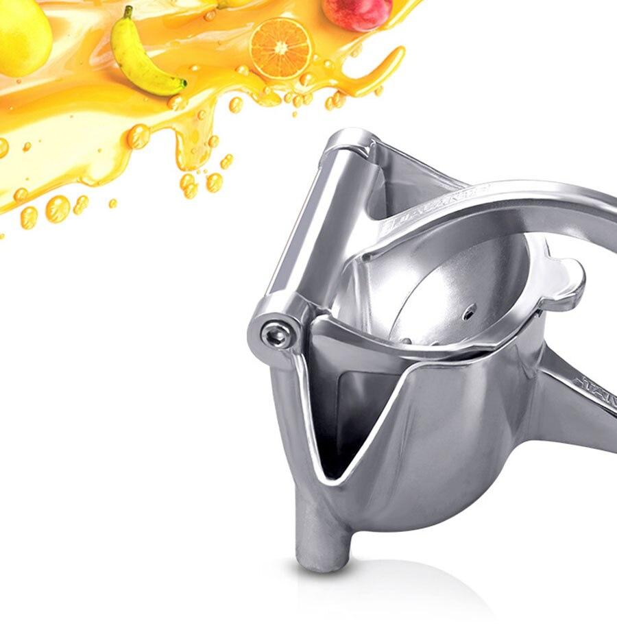 Manual Juice Squeezer Aluminum Alloy Hand Pressure Juicer Pomegranate Orange Lemon Sugar Cane Juice Kitchen Fruit Tool 2