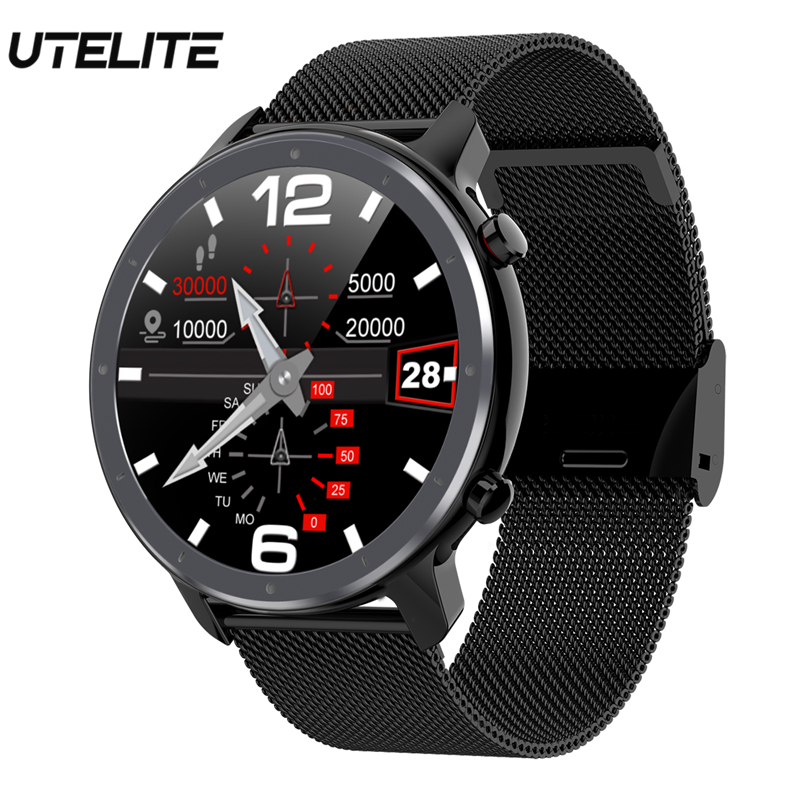 UTELITE L11 Smart Watch IP68 Waterproof More Watch Faces More Sport Modes Full Touch Band PK L9 L7 DT78 For Xiaomi Huawei IPhone