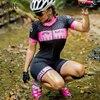 Kafitt pro camisa de ciclismo de manga curta das mulheres terno da bicicleta de estrada roupas esportivas macacão de corrida uniforme bib shorts ciclismo 2