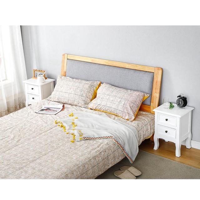 2Pcs/Set of Wood Nightstands Dressers   3