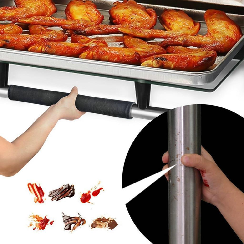 Pair Refrigerator Door Handle Cover Kitchen Appliance Decor Handles Antiskid Protector Gloves Fridge Oven Keep Off Fingerprints