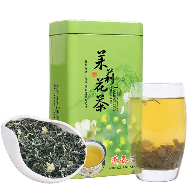 Organic Jasmine Flower Tea Products 2019 Year New Jasmine Green Tea Chinese Jasmine Tea The Health Care Green Food Slim Down Tea