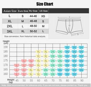 Image 5 - 4 adet/kutu erkek kutulu baksır şort erkek iç çamaşırı seksi kaliteli pamuk külot marka hediye paketi boksör Homme