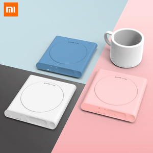 Xiaomi Mijia Mini Heating Coasters Heating USB Electric Tray Coffee Tea Drink Warmer 3 Levels Adjustment Constant For Smart Home(China)