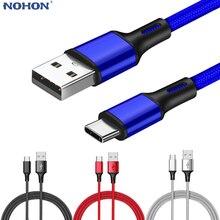 Usb type-C кабель для Xiaomi Redmi Note 7 mi9 USB C кабель для samsung S9 провод для быстрого заряда оригинальное зарядное устройство для мобильного телефона шнур для передачи данных