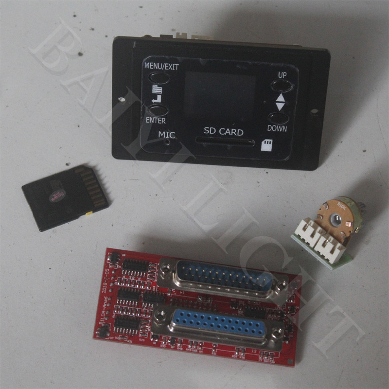 Free Shipping Sd Card Display And 25pins Ilda Interface Only For My Laser Scanner DB25 Interface