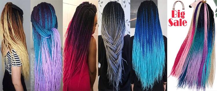 Ombre Senegalese Twist Hair twist hair barids
