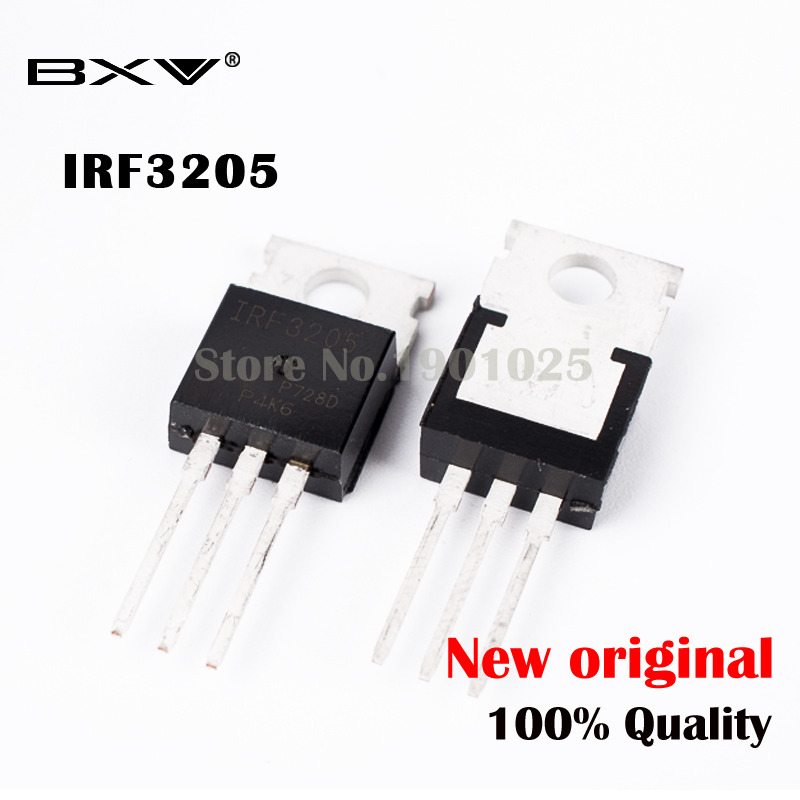 10pcs free shipping IRF3205 IRF3205PBF MOSFET MOSFT 55V 98A 8mOhm 97.3nC TO 220 new original|Integrated Circuits|   - AliExpress