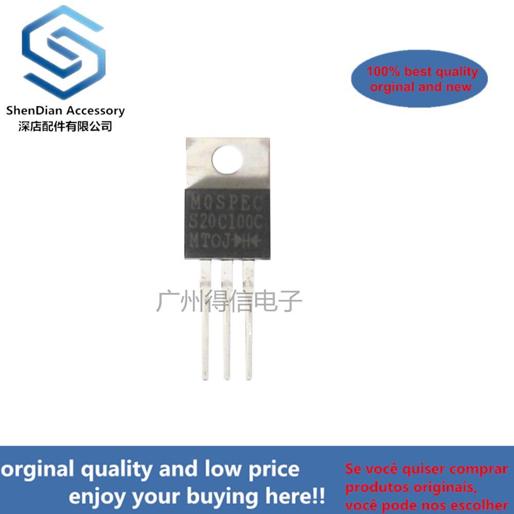 10pcs 100% Orginal S20C100C TO-220 Real Photo