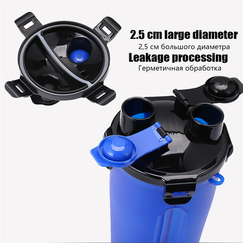 2 in 1 Portable Pet Water Food Container