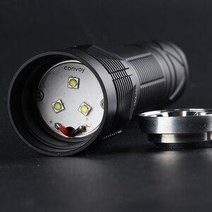 Image 5 - Konvoy S12 el feneri ile luminus sst20,nichia 219C, LH351D