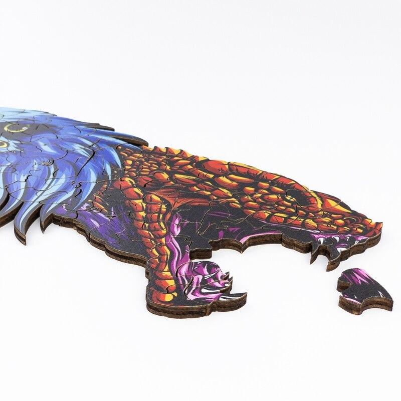 3d quebra cabeca nao fade cor impressao mesa decoracao presente natal 04