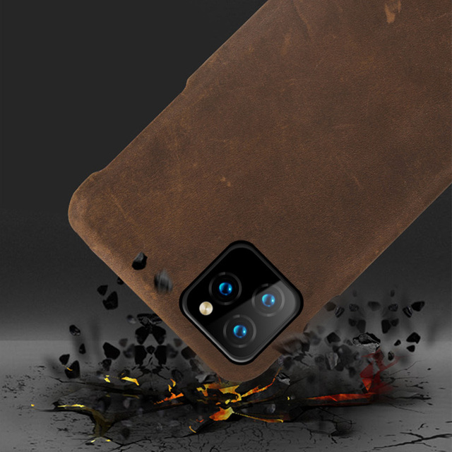 Leather Phone Cover iPhone 11 Pro Max 2